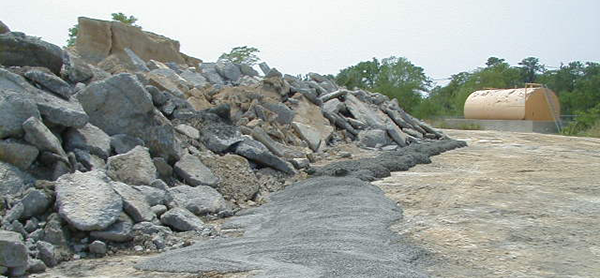 Is concrete hazardous waste? title=