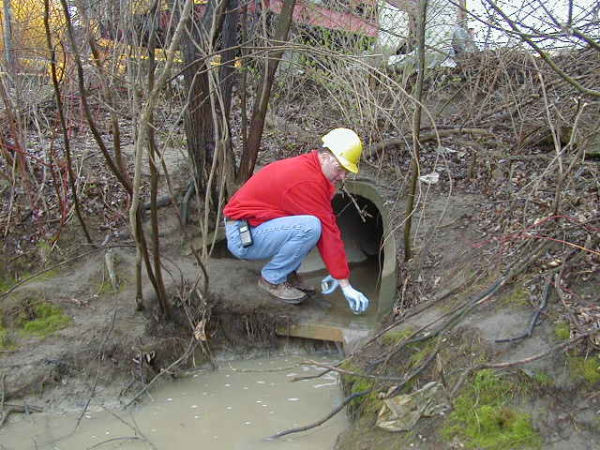 How to take pH for a stormwater sample?