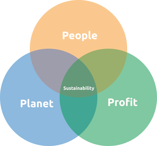 triple bottom line of sustainability Delineation